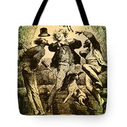 Weightlessness, 19th Century Tote Bag