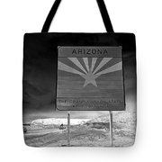 Welcome Sign Tote Bag by David Lee Thompson