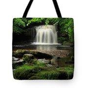 West Burton Falls In Wensleydale Tote Bag