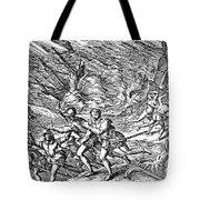 West Indies: Hurricane Tote Bag