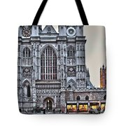 Westminster Abbey And  Victoria Tower Tote Bag