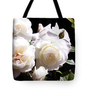 White Roses Tote Bag