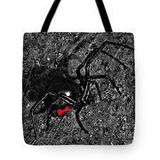 Wicked Widow - Selective Color Tote Bag