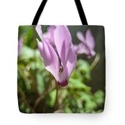Wild Cyclamen Tote Bag