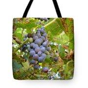 Wild Grapes Tote Bag