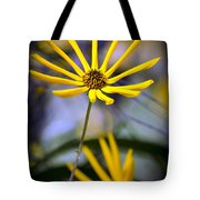 Wild Swamp Daisy Tote Bag