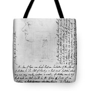 William Blake (1757-1827) Tote Bag