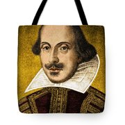 William Shakespeare Tote Bag by Science Source