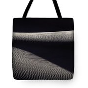 Wind-rippled Sand Dunes In Death Valley Tote Bag
