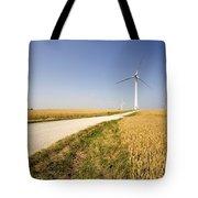 Wind Turbine, Humberside, England Tote Bag