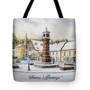 Winter In Twyn Square Tote Bag