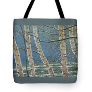 Winter Is Over Tote Bag