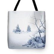 Winter On The Moor Tote Bag