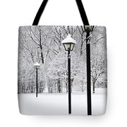 Winter Park Tote Bag