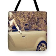 Woman In Convertible Tote Bag by Joana Kruse