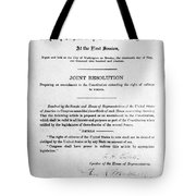Womens Rights Movement Tote Bag
