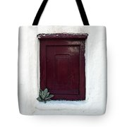 Wooden Window Tote Bag