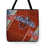 World Series Medallions Tote Bag