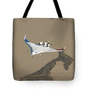 X-48b Blended Wing Body Tote Bag