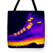 X-ray Of A Hiking Boot Tote Bag