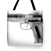 X-ray Of An Air Gun Tote Bag