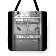 X-ray Of An Ipod Tote Bag