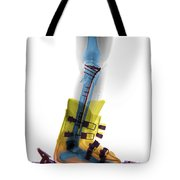 X-ray Of Broken Bones In Ski Boot Tote Bag