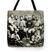 Yale Baseball Team, 1901 Tote Bag