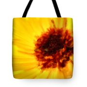 Yellow Floral 01 Tote Bag