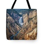 Yellowstone Lower Falls Tote Bag