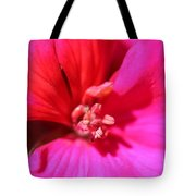 Zonal Geranium Named Tango Neon Purple Tote Bag