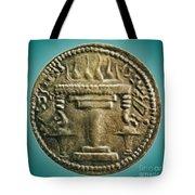 Zoroastrian Fire Altar Tote Bag