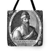 Francisco Pizarro Tote Bag