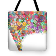 Gears Wheels Design  Tote Bag