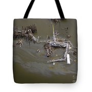 Hurricane Katrina Damage Tote Bag