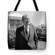 Jimmy Carter (1924- ) Tote Bag