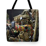 Members Of A Recce Or Scout Team Tote Bag