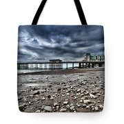 Penarth Pier Tote Bag