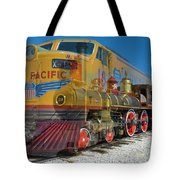 100 Years Of Union Pacific Railroading Tote Bag