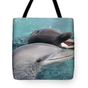 Atlantic Bottlenose Dolphins Tote Bag