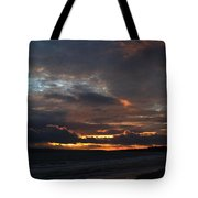 Bournemouth Sunset Tote Bag