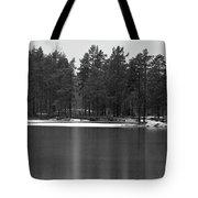 Haukkajarvi First Snow Tote Bag