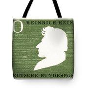 Heinrich Heine (1797-1856) Tote Bag