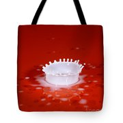 Milk Splash Tote Bag