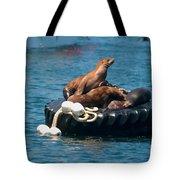 Monterey Harbour Tote Bag