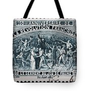 old French postage stamp Tote Bag