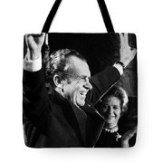 Richard Nixon (1913-1994) Tote Bag