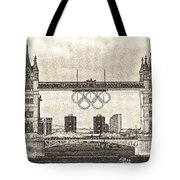 Tower Bridge Art Tote Bag