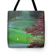 11th Hole At Clarksville C C Tote Bag