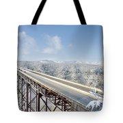 New River Gorge Bridge Tote Bag